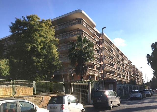 Edilizia Residenziale, Via Flaminia